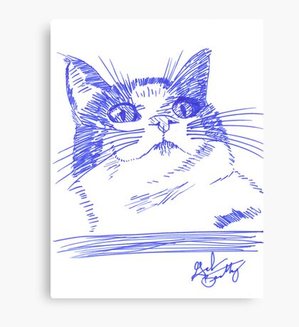 Chester the Cat Canvas Print