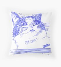 Chester the Cat Throw Pillow