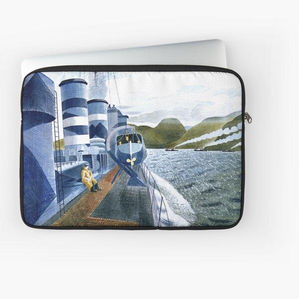 Ravilious - Leaving Scapa Flow Laptop Sleeve