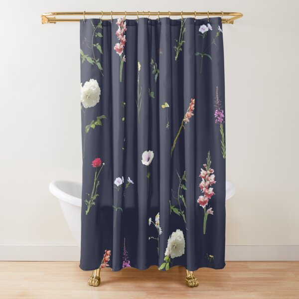 Flowers and herbs Shower Curtain