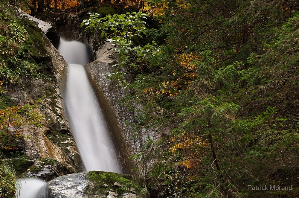 Diomaz waterfall, a closeup view by Patrick Morand