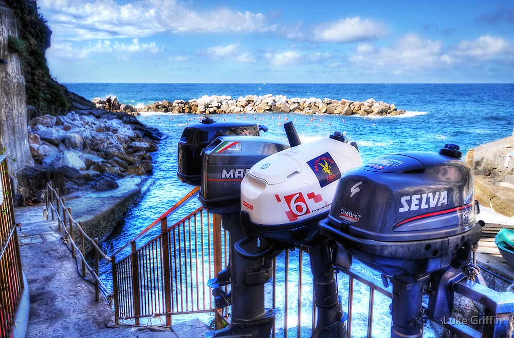 Ousted Outboards by Luke Griffin