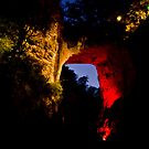 Natural Bridge - Night Light by vasu
