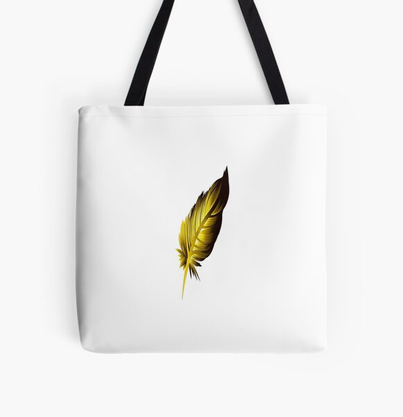 Feather3 All Over Print Tote Bag
