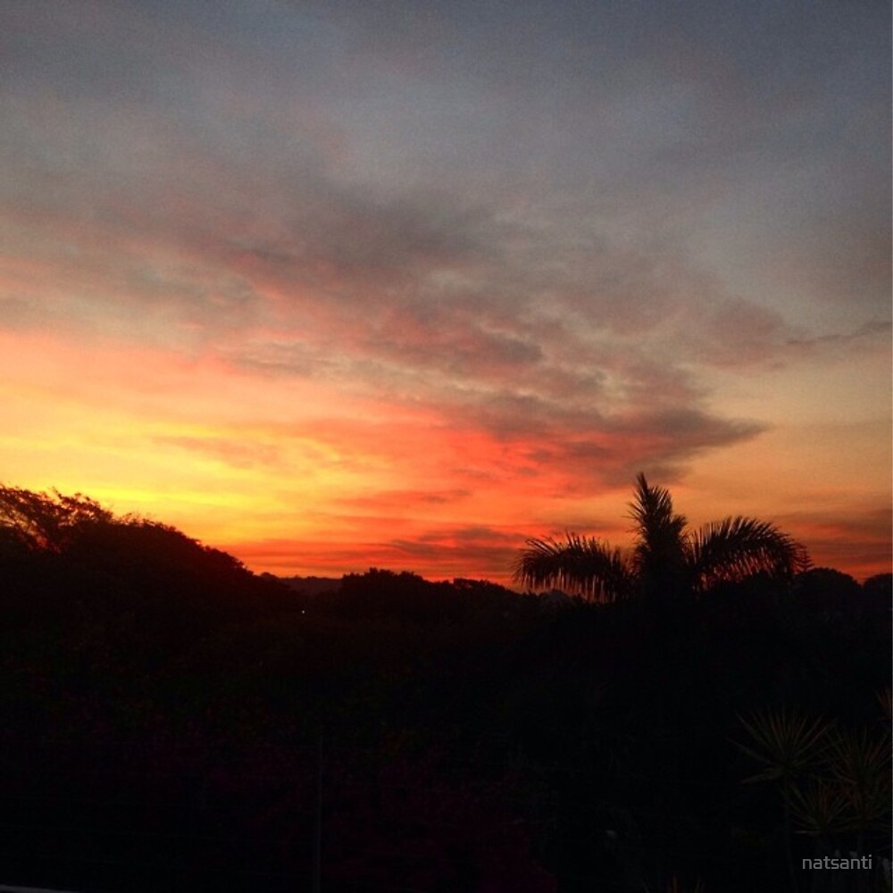 Trafalgar sunset by natsanti