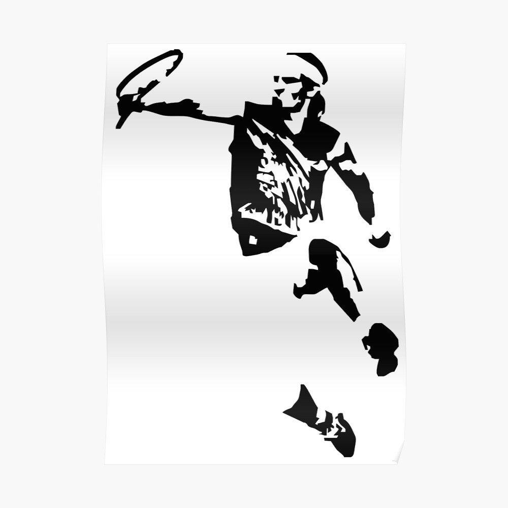 Art Rafael Nadal Poster By Miscamjabrg Redbubble