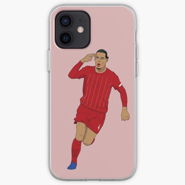 Virgil van Dijk Red iPhone Soft Case