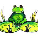 Frog - Just Chillin' by Linda Callaghan