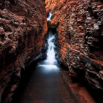 The Spider Walk - Hancock Gorge - Karijini NP by mattstreatfeild