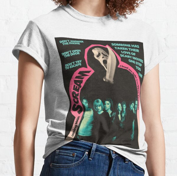 Scream Movie Poster Classic T-Shirt