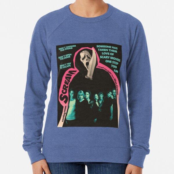 Scream Movie Poster Lightweight Sweatshirt