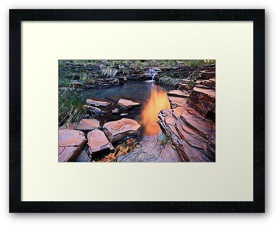 A View of Eden - Weano Gorge - Karijini NP by Matt  Streatfeild
