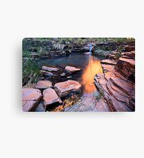 A View of Eden - Weano Gorge - Karijini NP Canvas Print