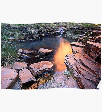 A View of Eden - Weano Gorge - Karijini NP Poster