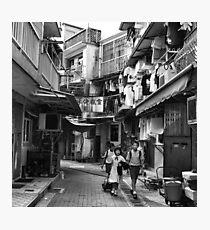 School children, Sai Kung, Hong Kong Photographic Print