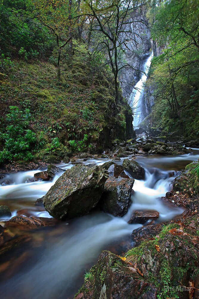 Grey Mare's Tail, Kinlochleven by Phil Millar