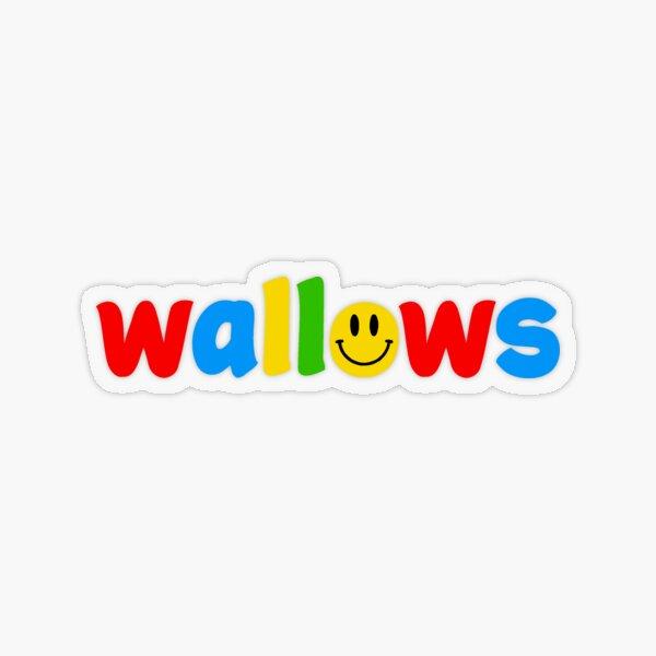 wallows Transparent Sticker