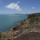 Looking down the East Coast from the Tip of Australia by Chris Cohen