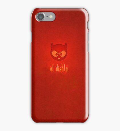 el diablo - iPhone case design iPhone Case/Skin