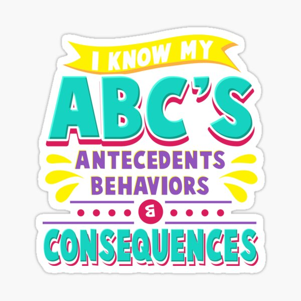 Funny Behavior Analyst Gift Idea Sticker