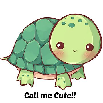 Call me cute turtle by worrie