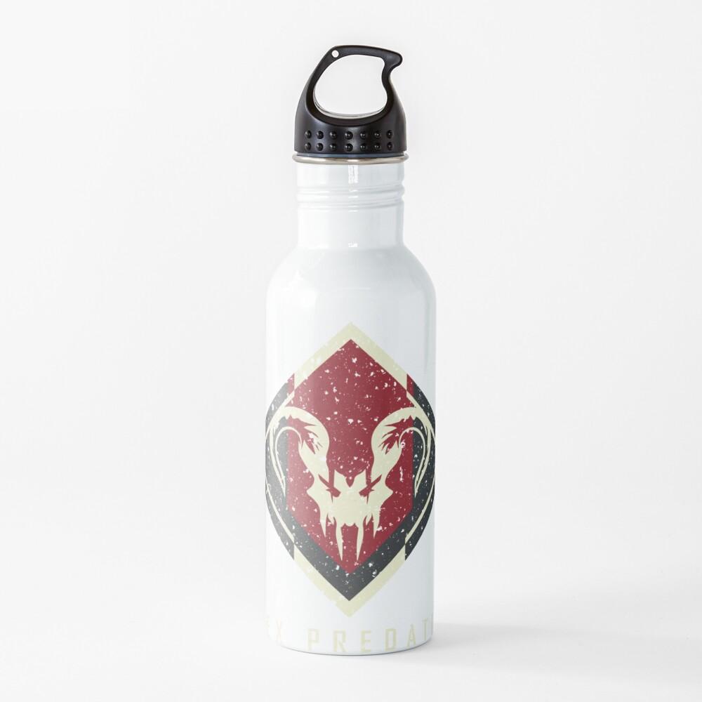 Apex Predator Achievement Badge Water Bottle