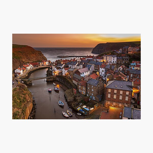 Staithes Classic Shot Photographic Print