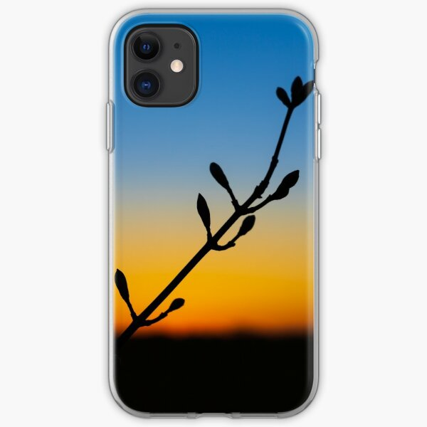 Bud Silhouette iPhone Soft Case