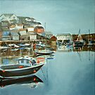 Harbour at Mevagissey by Carole Russell
