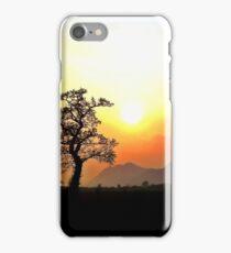 Sunset Scottish Hills iPhone Case/Skin