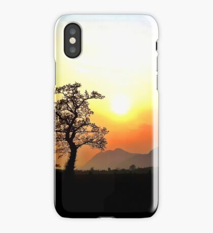 Sunset Scottish Hills iPhone Case