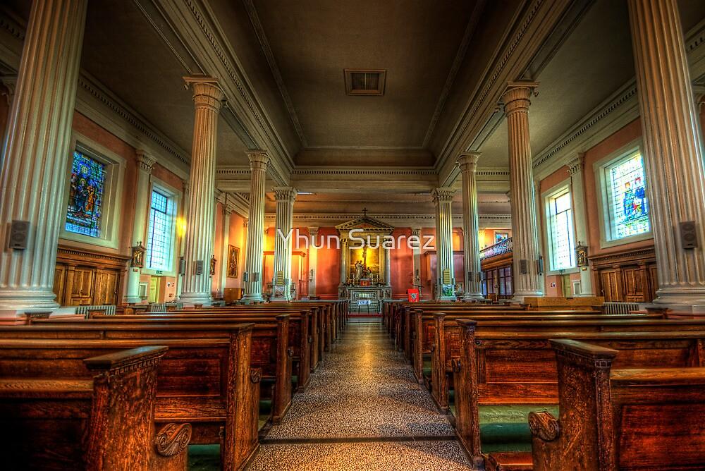 St. Mary's Catholic Church - Nave by Yhun Suarez
