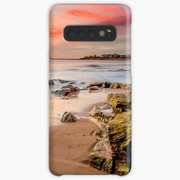 Fiery Sky Tynemouth Samsung Galaxy Snap Case