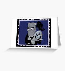 Boris Von Frankenstein Greeting Card