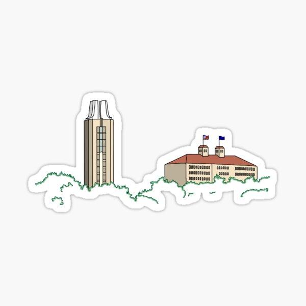 KU Campus Sticker