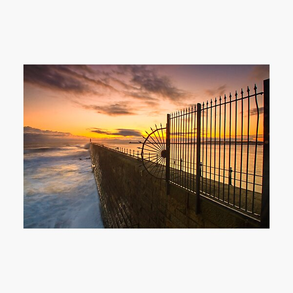 Tynemouth Pier  Photographic Print
