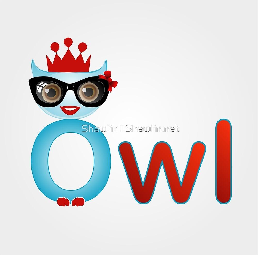 Friendly owl wisdom by Shawlin Mohd