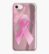 Breast Cancer Survivor iphone Case iPhone Case/Skin