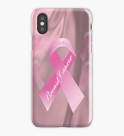 Breast Cancer Survivor iphone Case iPhone Case