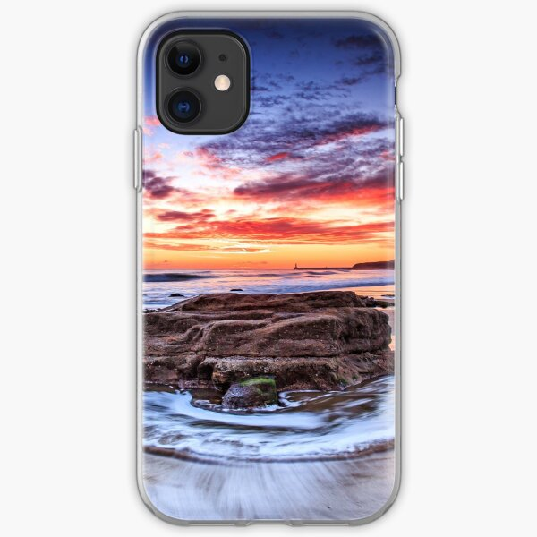 Swirling Waves iPhone Soft Case