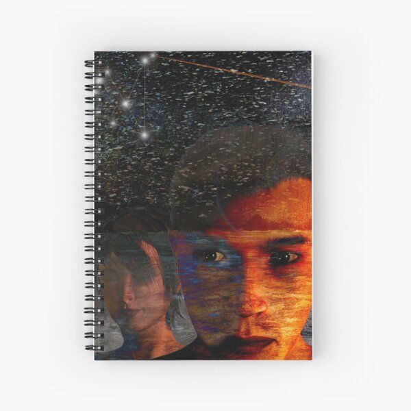 The Night Awakened Spiral Notebook