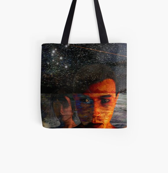 The Night Awakened All Over Print Tote Bag