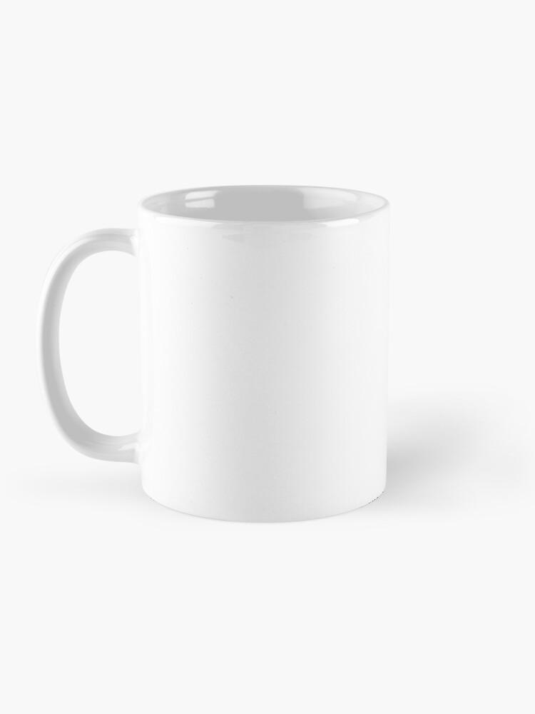 Alternative Ansicht von Diät halten Tasse