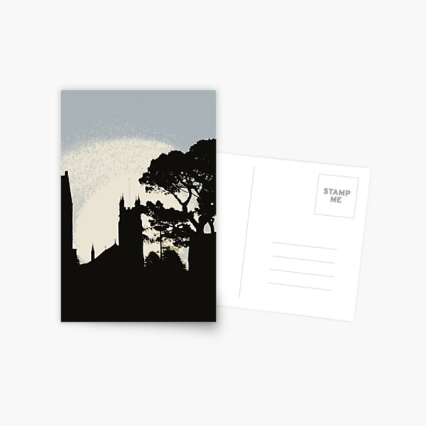 Church at sunrise Postcard