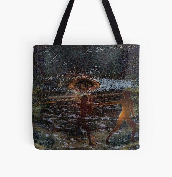 Ethereal Guide All Over Print Tote Bag