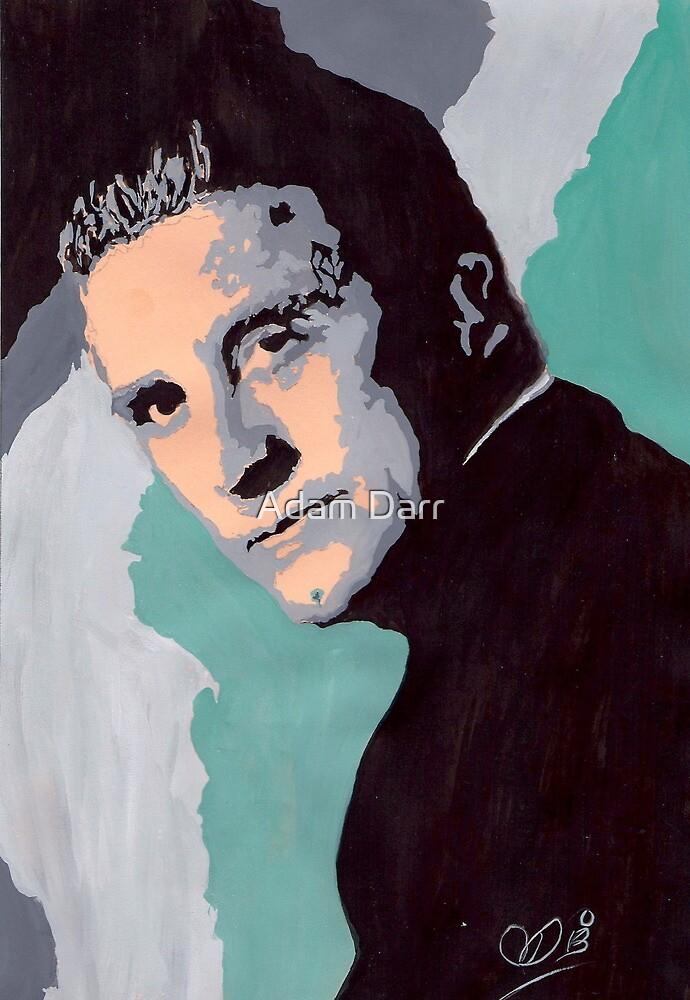 Kirk Douglas by Adzee
