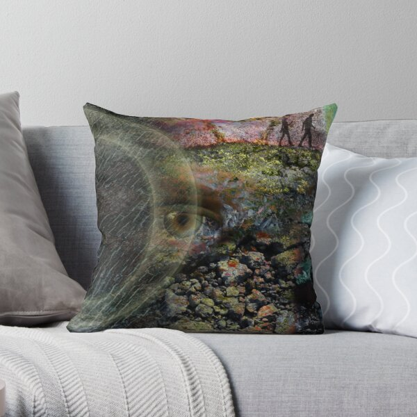 Eye of Content Throw Pillow
