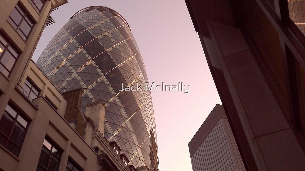 The Gherkin, London by Jack McInally