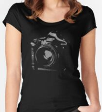 Newest Dream Camera Women's Fitted Scoop T-Shirt