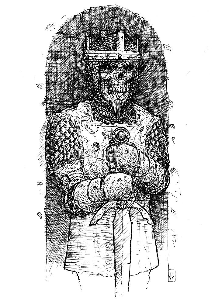 THE KING WITHOUT REST/ EL REY SIN DESCANSO/ ATSEDENIK GABEKO ERREGEA by ATOMICBRAIN